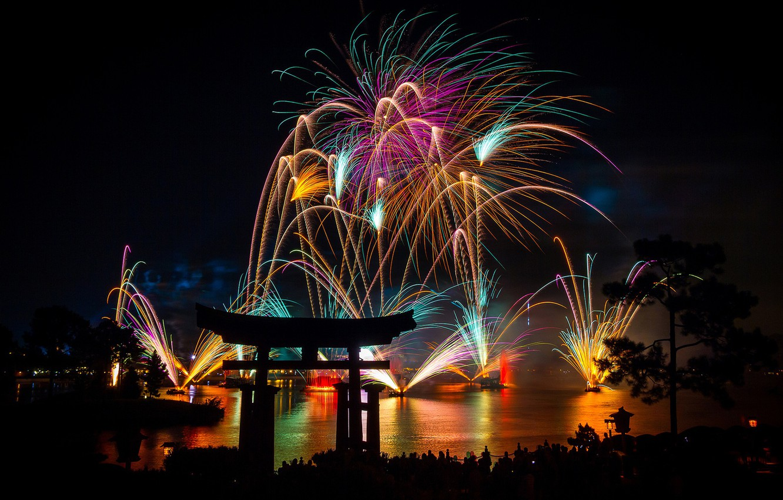 asia-fireworks-lights-new-year-torii-pines-night