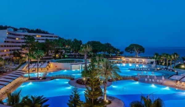 Рейтинг отелей Турции 5 звезд, отдых на море