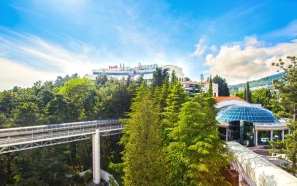 Санатории РЖД в Сочи, отдых с ценами на 2020 год
