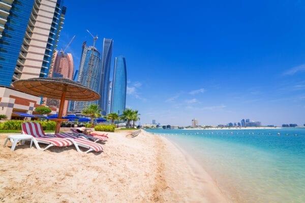 Где купаться в Абу-Даби