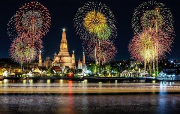 Новый год в Таиланде: гделучше