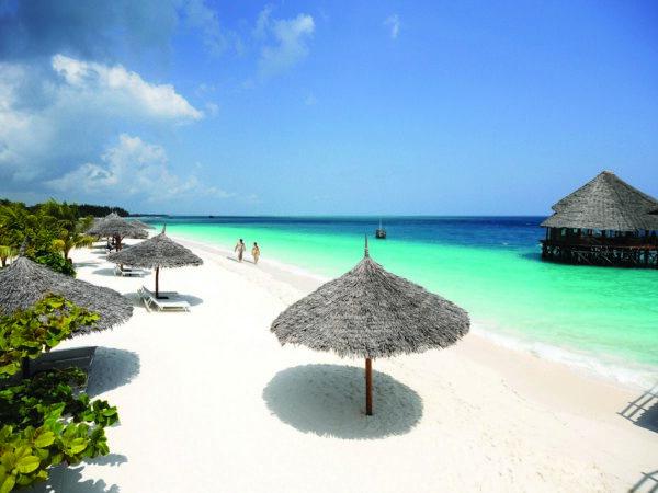 Отель Reef & Beach Resort Jambiani в Танзании