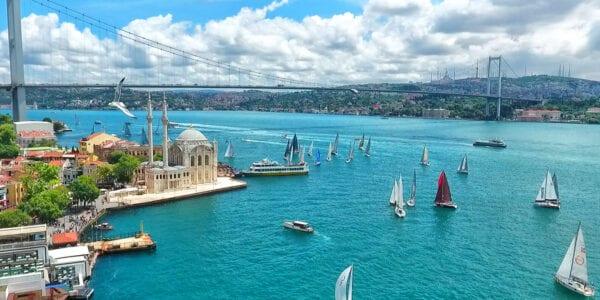 10 лучших отелей Стамбула с видом на Босфор