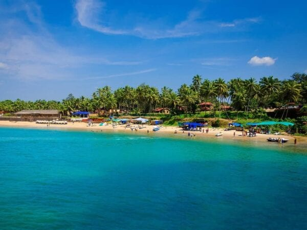 Лучшие отели северного Гоа